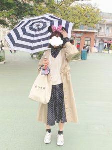 ディズニーデート秋コーデ