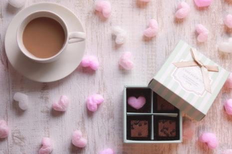 チョコレートのかわいい箱