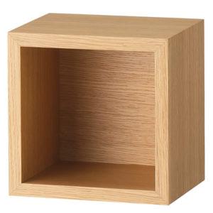 壁に付けられる単ボックス