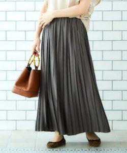 おすすめのプリーツスカート