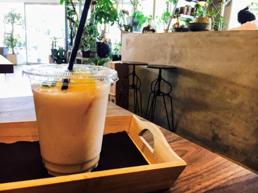 熊本 ザ・ランドリーラウンジcafe