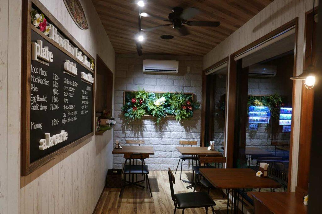 Laundry & Cafe MAKANA内観