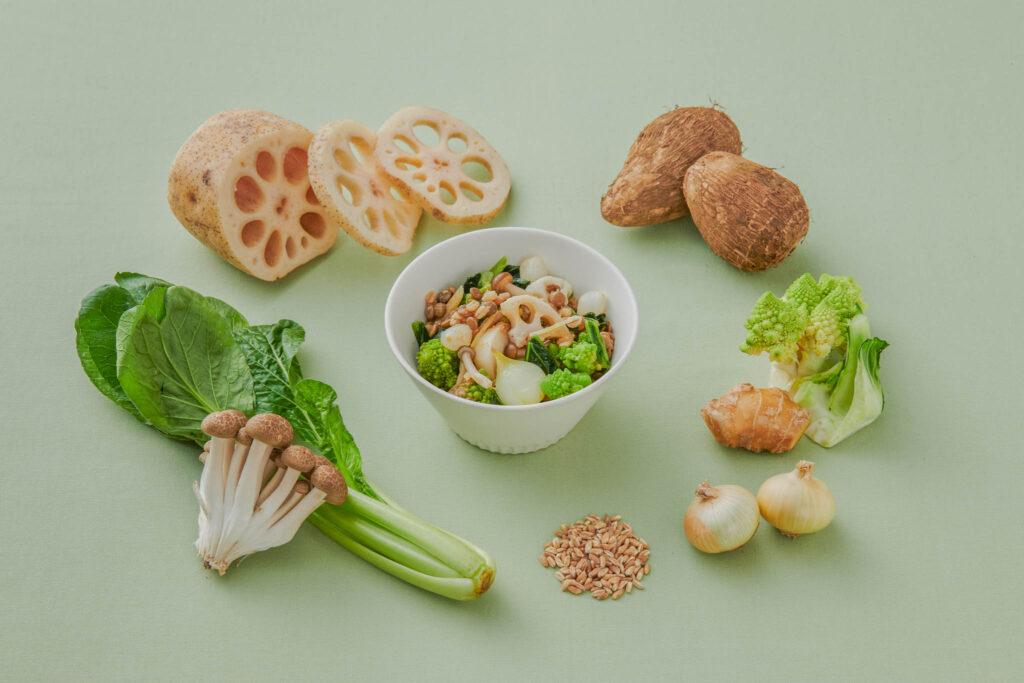 Oideyasu 根菜たっぷり京味噌風ジンジャーサラダ